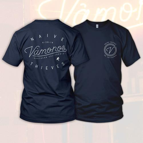 Vamonos Navy Blue T-Shirt