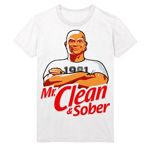 Clean & Sober White