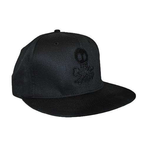 84bc3c23b98 Skully Snapback Hat   HLR0   Hopeless Records