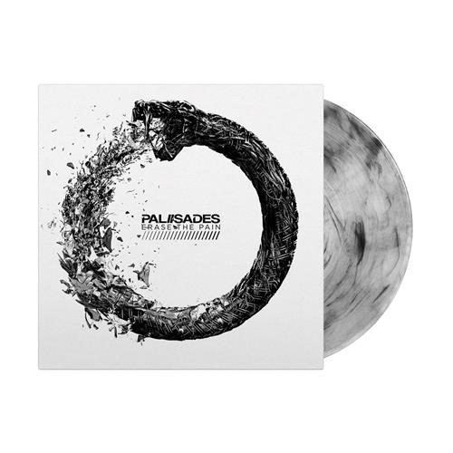 Erase The Pain LP Clear W/ Black Smoke