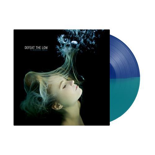 A Nervous Smile Half Navy/Half Teal LP