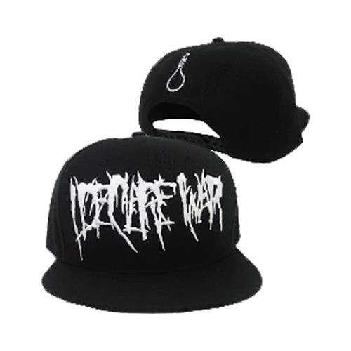 Rope Black Snapback Hat