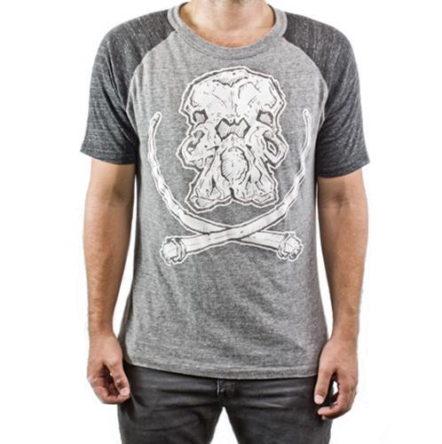 Mammoth Skull Grey/Black Gym Rat