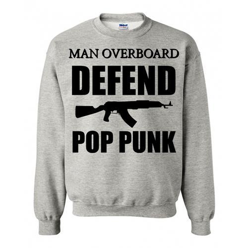 Defend Pop Punk Heather Gray