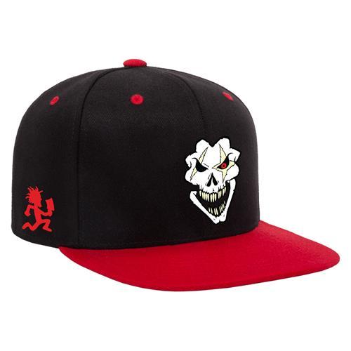 Death Pop Skull Black-Red Snapback
