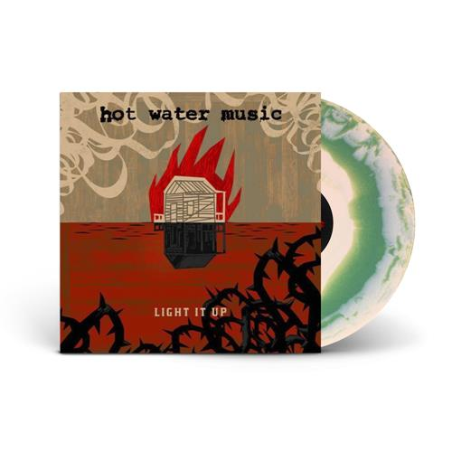 *ALMOST SOLD OUT VINYL* Light It UP Bone W/ Olive