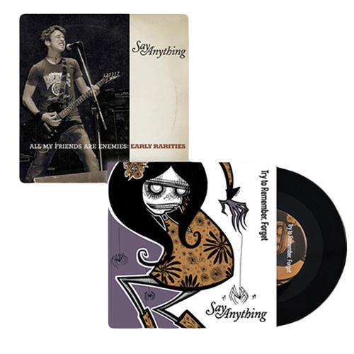 Say Anything/Eisley 7inch + Rarities CD