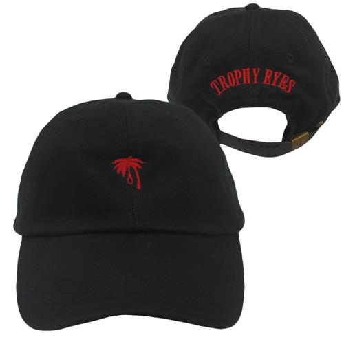 Palm Noose Black Dad Hat