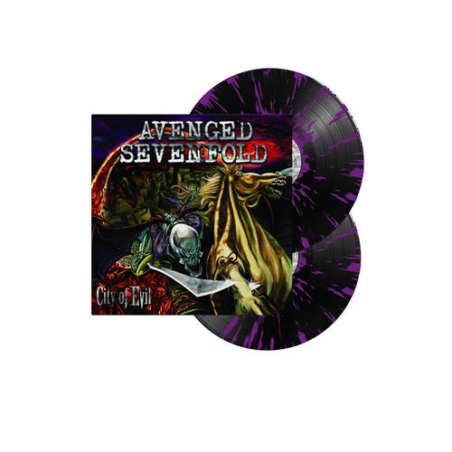 City Of Evil Black W/ Purple Splatter