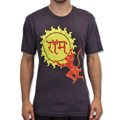 Mantralogy Hanuman Sun Vintage Purple
