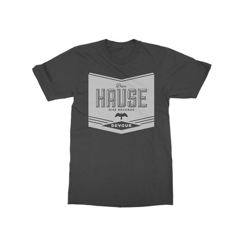 Vintage Label Charcoal T-Shirt