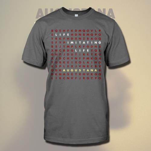 Word Search Charcoal T-Shirt