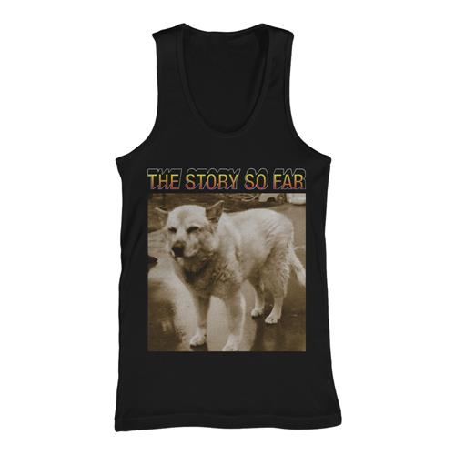 Husky Black Tank Top