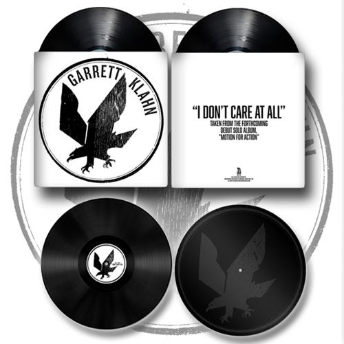 I Don't Care At All Black 7inch Vinyl