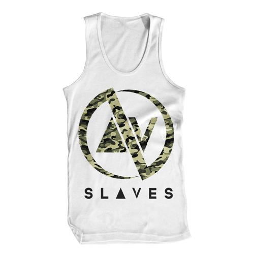 *Limited Stock* Camo White Tank Top