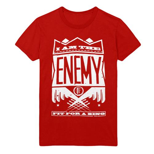 *Last One* Fit For A King - Enemy Red