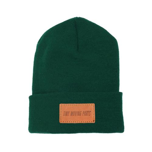 Logo Green Patch Beanie