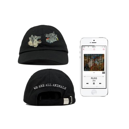 Wolf Heads Hat + Digital Album