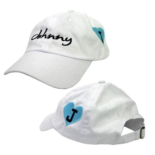 Script White Dad Hat
