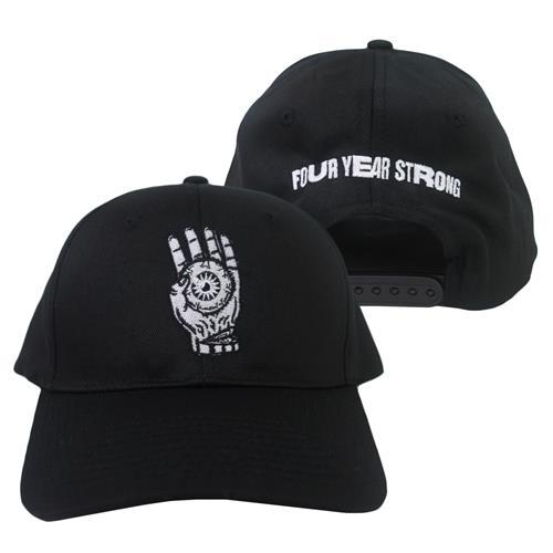 Brain Pain Black Snapback Hat