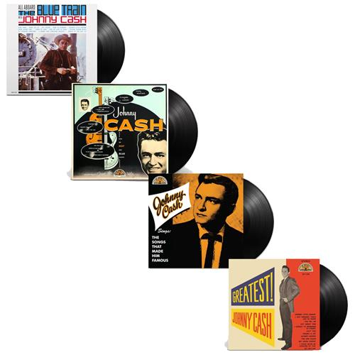 Johnny Cash Vinyl Bundle