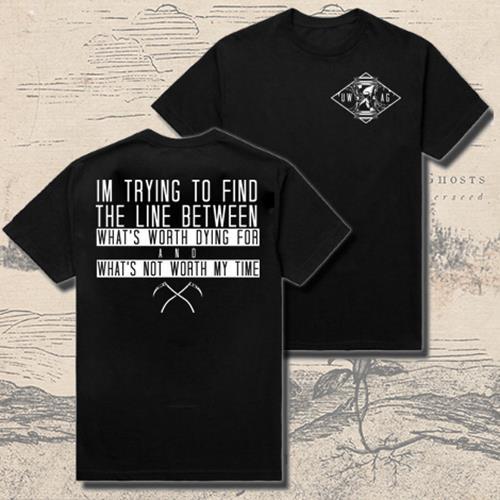 Hourglass Black T-Shirt