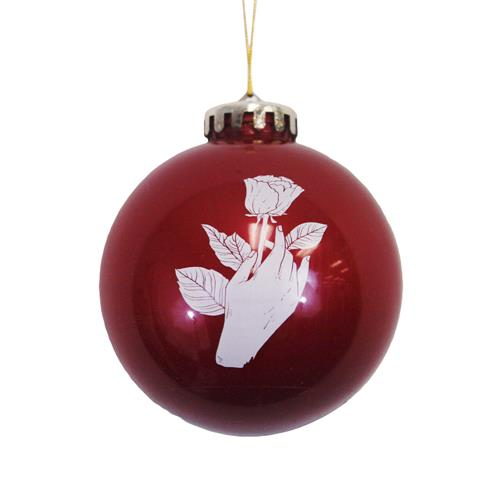 Deathgrip Red Ornament