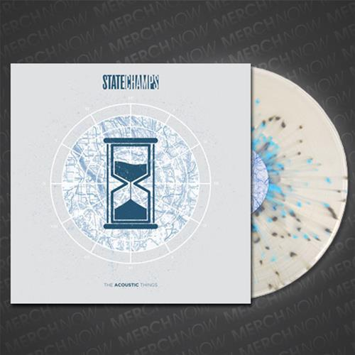 The Acoustic Things Clear W Grey Baby Blue Splatter Lp Pne0