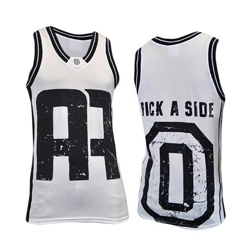Pick A Side White/Navy