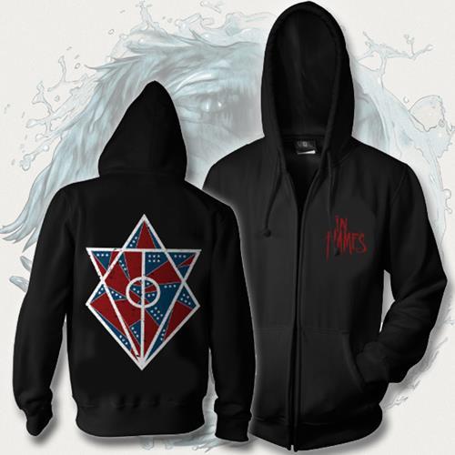 Jesterhead Logo Black Hooded Pullover