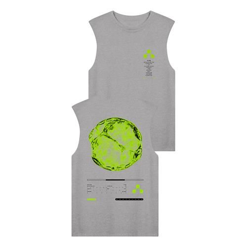 Planet Heather Grey Sleeveless