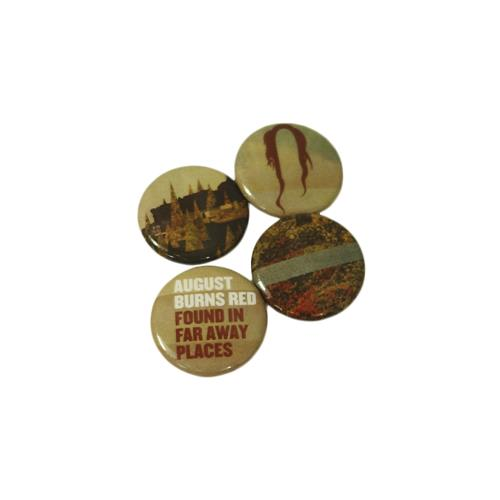 August Burns Red Pins (Set Of 4)