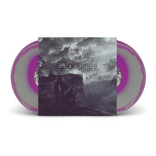 The Place I Feel Safest Purple W Grey Swirl Shrp