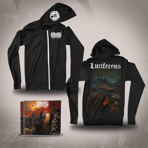 Luciferous CD + Enterprise Earth Zip-Up