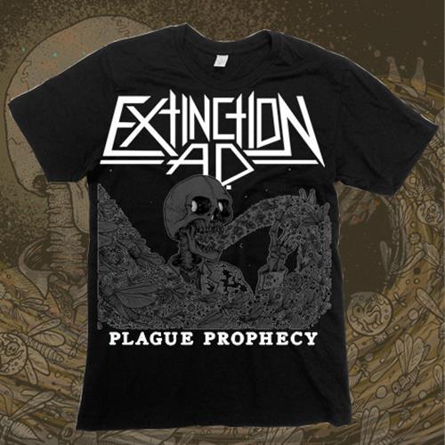 Plague Prophecy Black T-Shirt