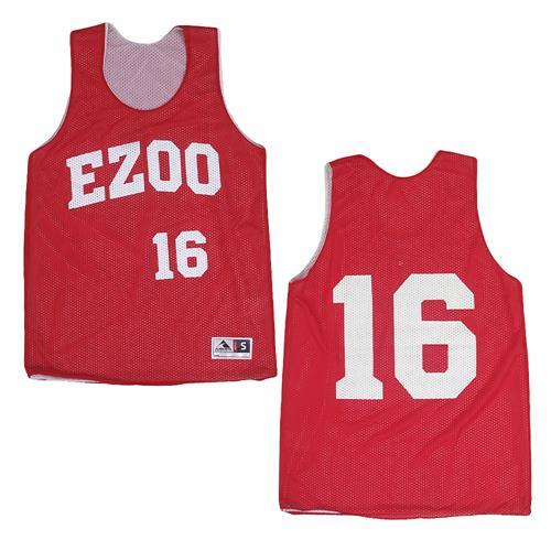 EZOO Red/White Mesh