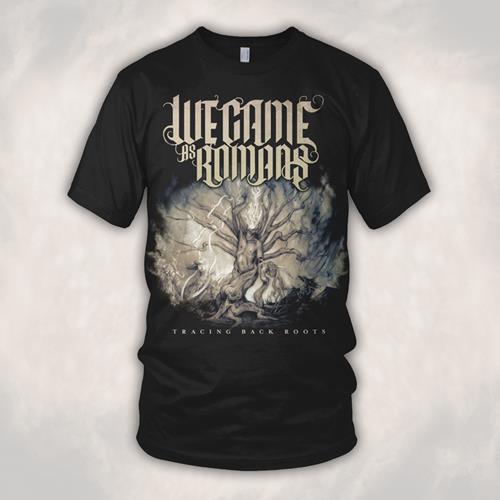 Tracing Back Roots Black T-Shirt