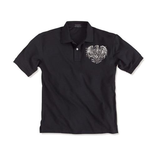 Phoenix Logo Black Polo