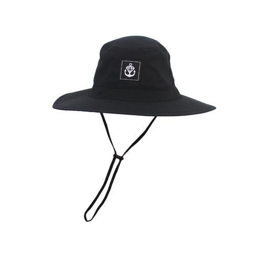 Logo Sew Tag Black Bucket Hat