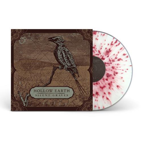 Silent Graves Clear W/ Oxblood Splatter