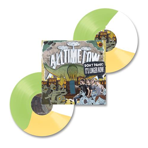Don't Panic: It's Longer Now! Green/White/Yellow Vinyl 2Xlp