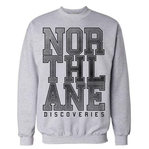 Discoveries Heather Grey Crewneck