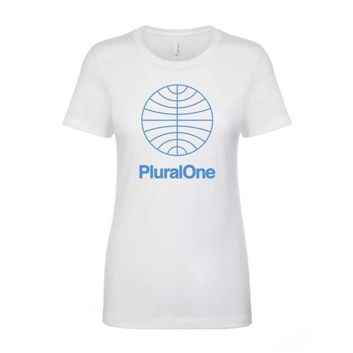 Pluralone White Girl's T-Shirt
