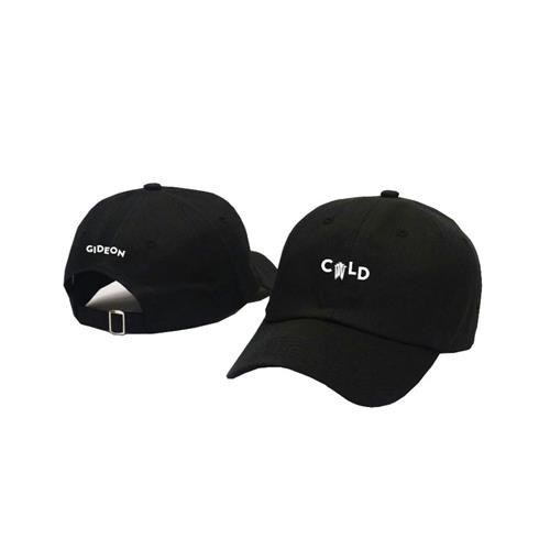 Cold Black Dad Hat