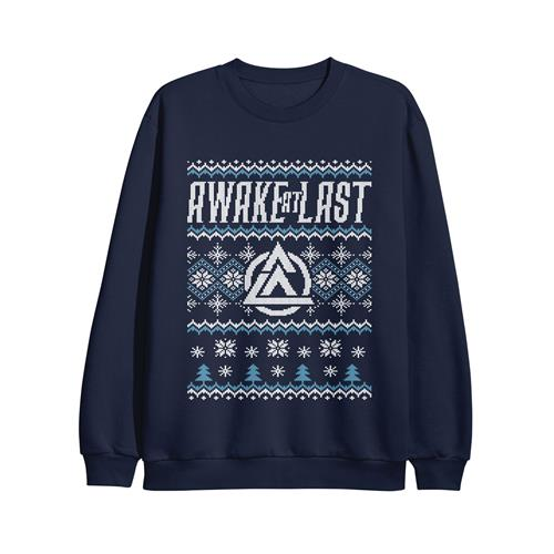 Navy Christmas Sweater Crewneck