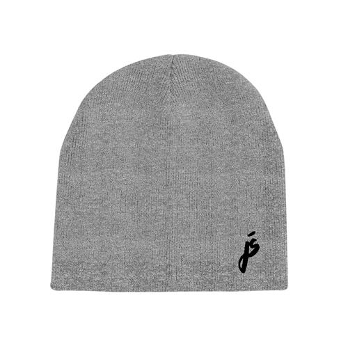 JS Logo Embroidered Heather Grey