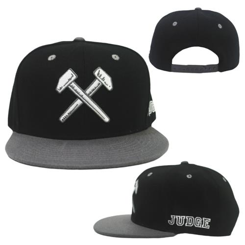 Hammers Black/Grey Snapback