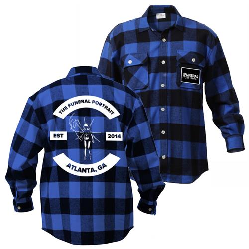 Est. 2014 Atlanta, GA Blue/Black Flannel