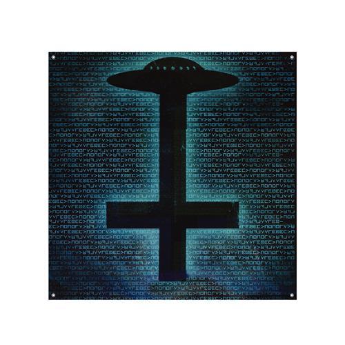 UFO / Cross Banner