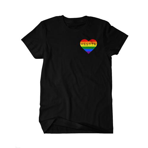 Pride Pocket Print Black